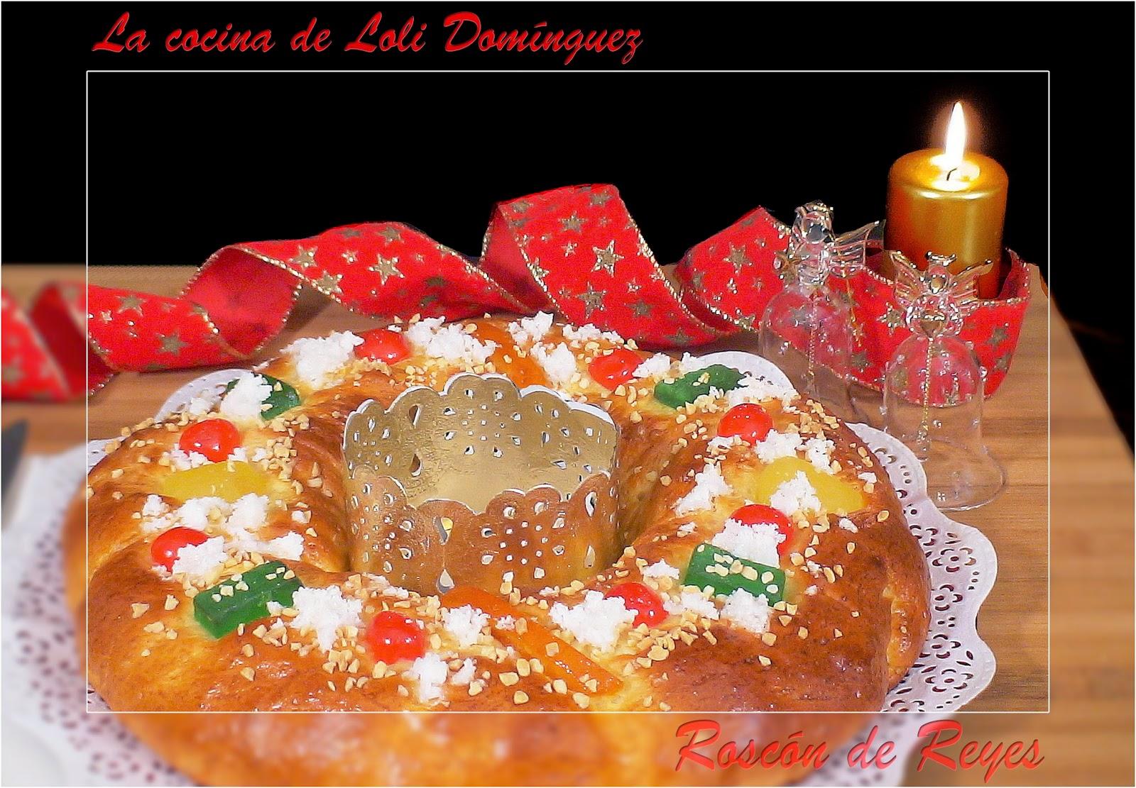 Cocinando Con Loli | La Cocina De Loli Dominguez Roscon De Reyes Tradicional
