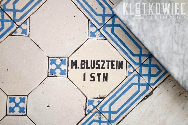 Warszawa: M. Blustein i syn - przedwojenna posadzka