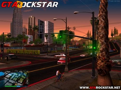 Mod Postes e Sinaleiras do GTA V para GTA San Andreas