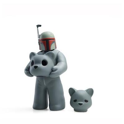 San Diego Comic-Con 2017 Exclusive Headspace Vinyl Figure Grey Set by Luke Chueh x Munky King