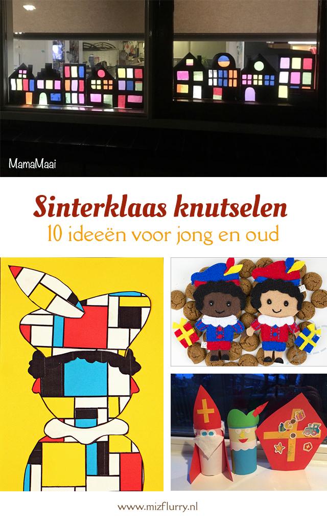 Sinterklaas knutselen - 10 ideeën voor jong en oud - Pinterest