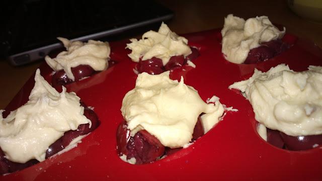 Ciastka z wiśniami