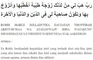 Doa Minta Jodoh untuk Laki-laki Arab, Latin dan Terjemahannya