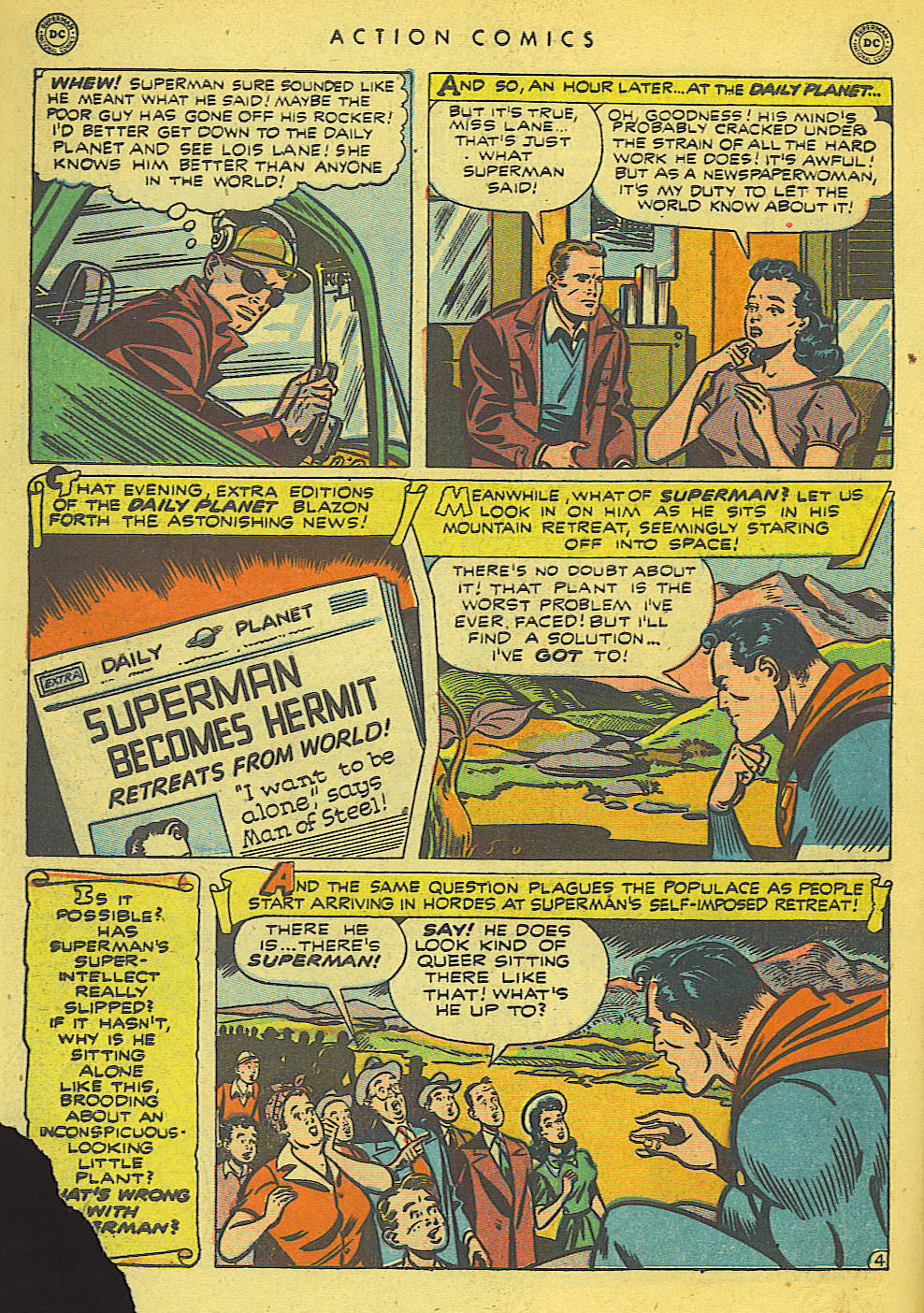 Read online Action Comics (1938) comic -  Issue #140 - 6