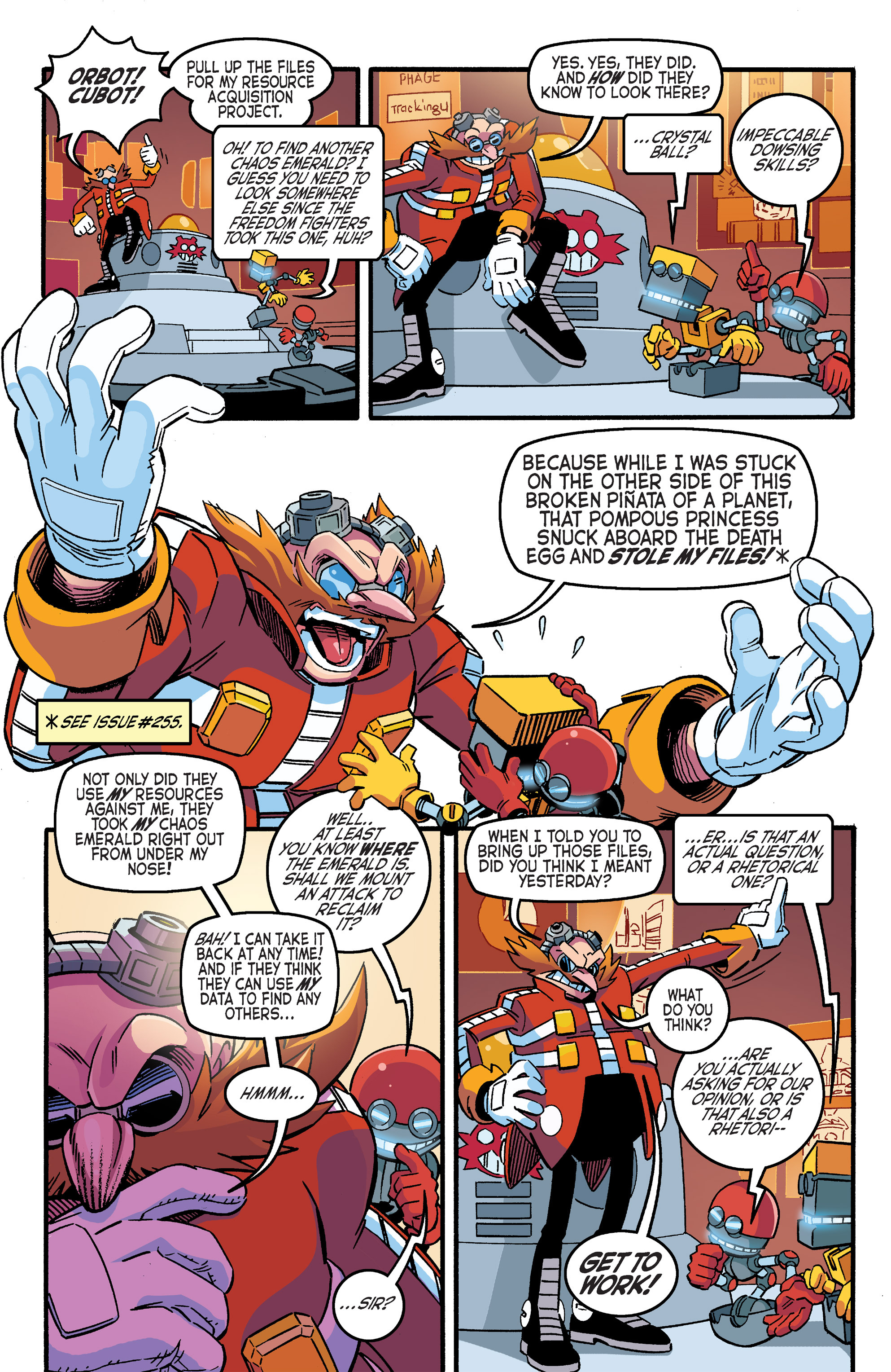 Read online Sonic The Hedgehog comic -  Issue #263 - 21