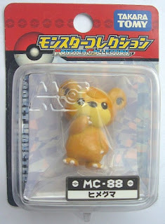 Teddiursa figure Tomy Monster CollectionMC series