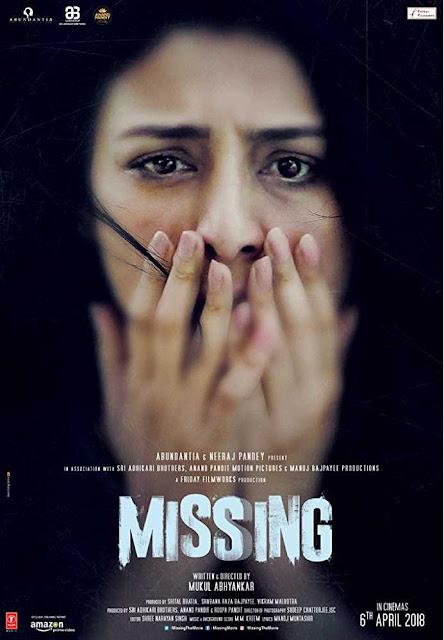 Poster Missing 2018 Full Movie Download Hindi 720p Free