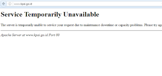 Serangan DDos di Hantarkan ke Situs KPAI