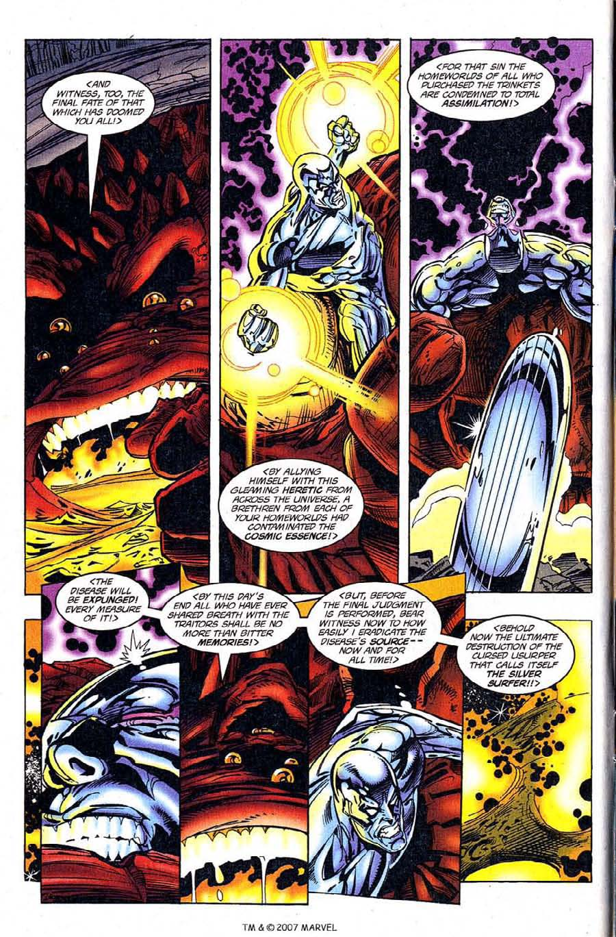 Read online Silver Surfer (1987) comic -  Issue #120 - 6