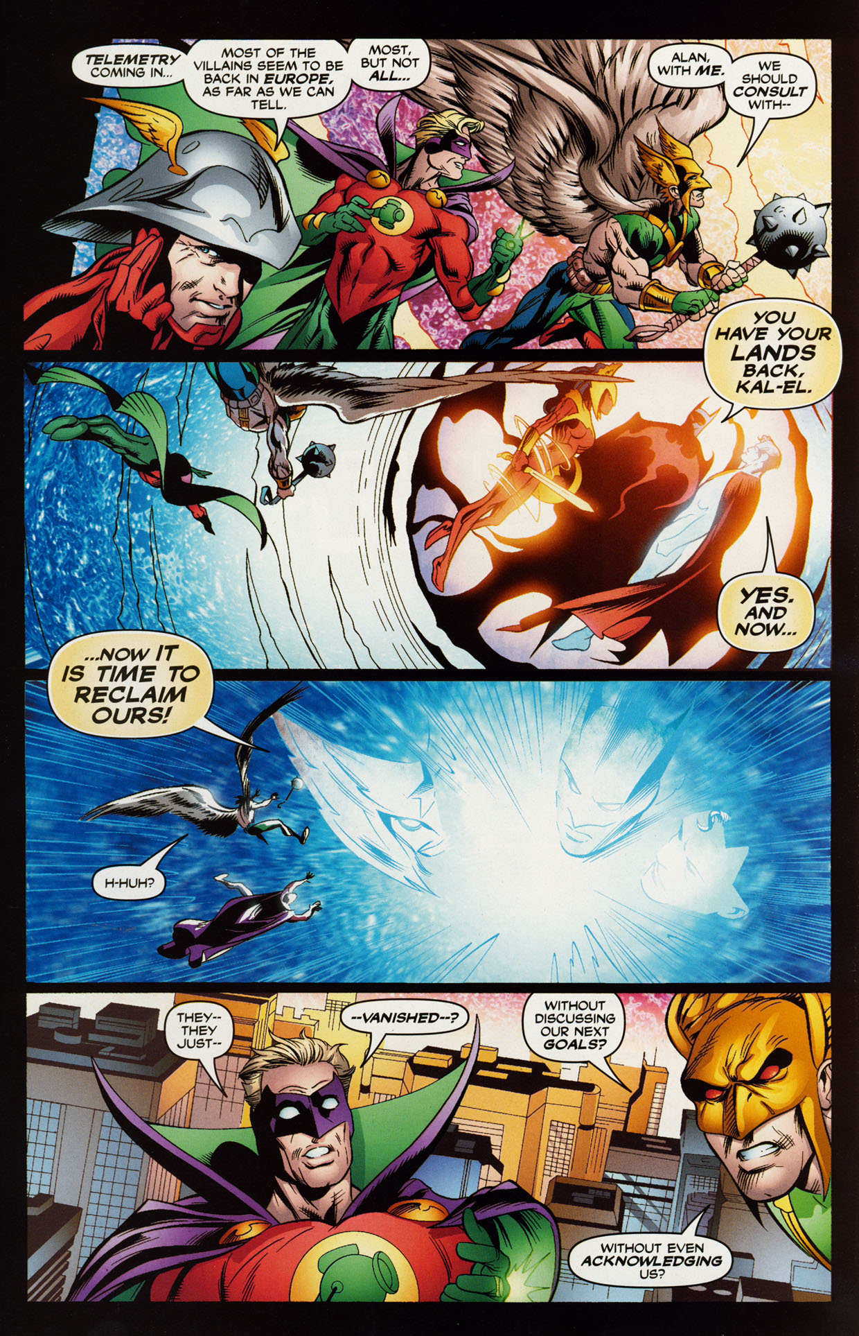 Read online Trinity (2008) comic -  Issue #41 - 15