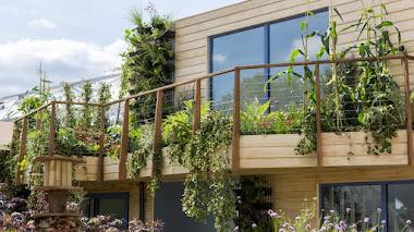 Un jardín urbano en Chelsea Flower Show, con algunas ideas para trasladar a casa