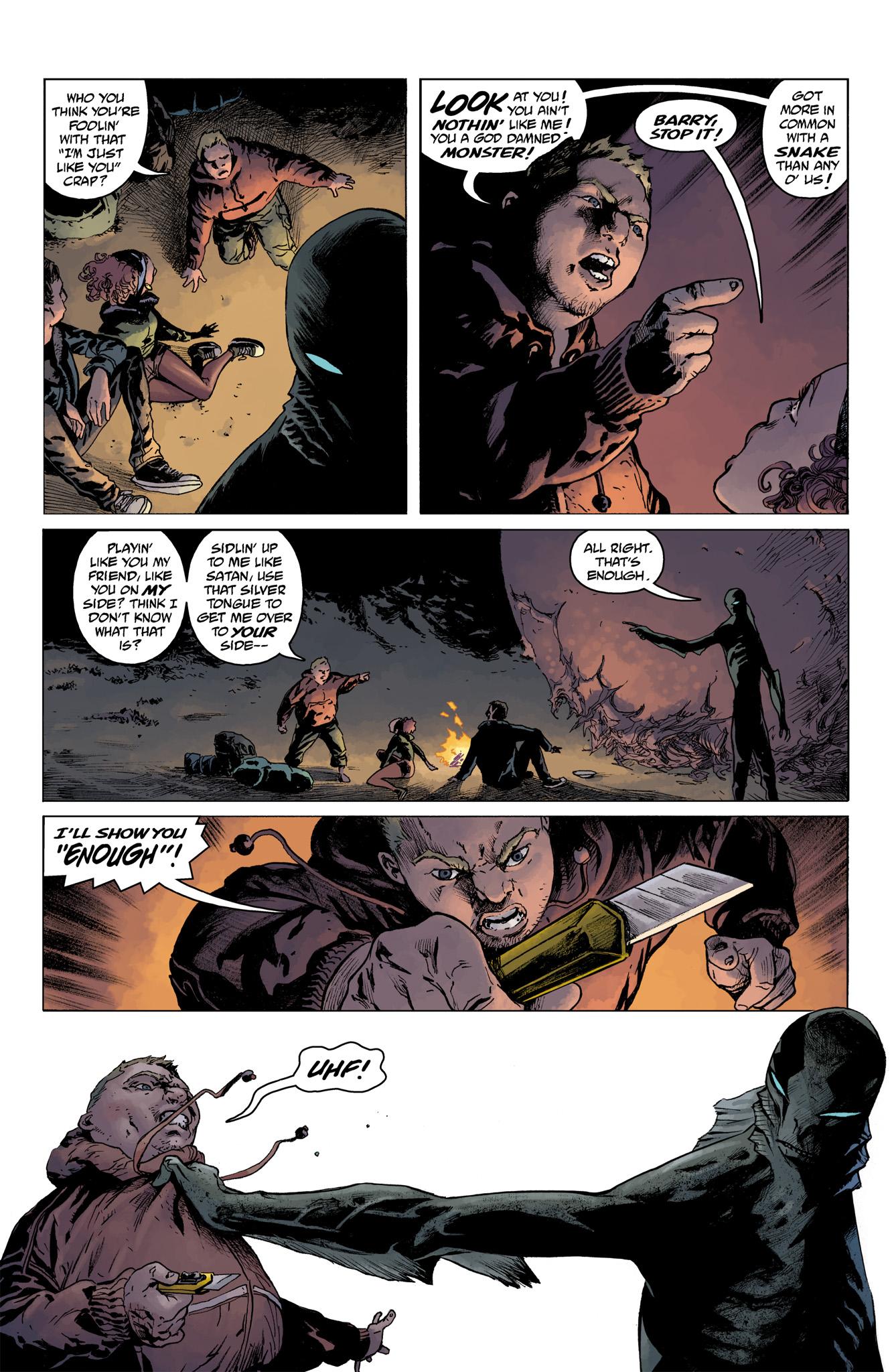 Read online Abe Sapien comic -  Issue #4 - 20