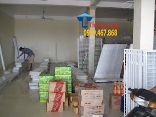 Set up và lắp đặt giá kệ siêu thị tại Thanh Hóa