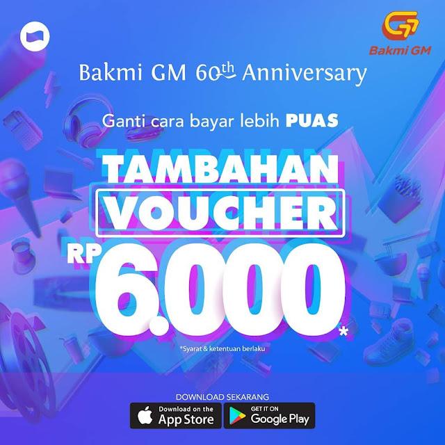 #BakmiGM - #Promo Tambahan Voucher 6K Bayar Pakai DANA (s.d 28 April 2019)