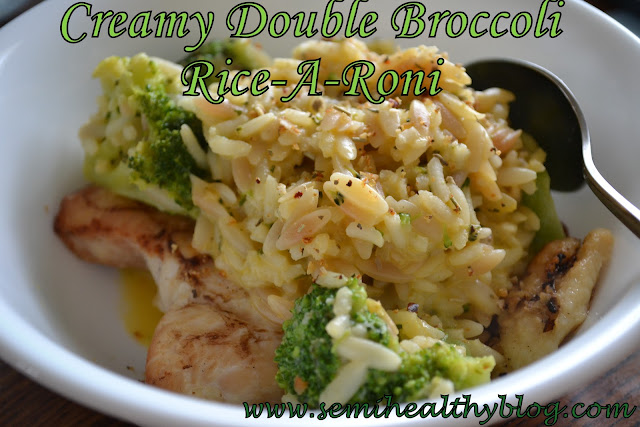 creamy double broccoli Rice-A-Roni