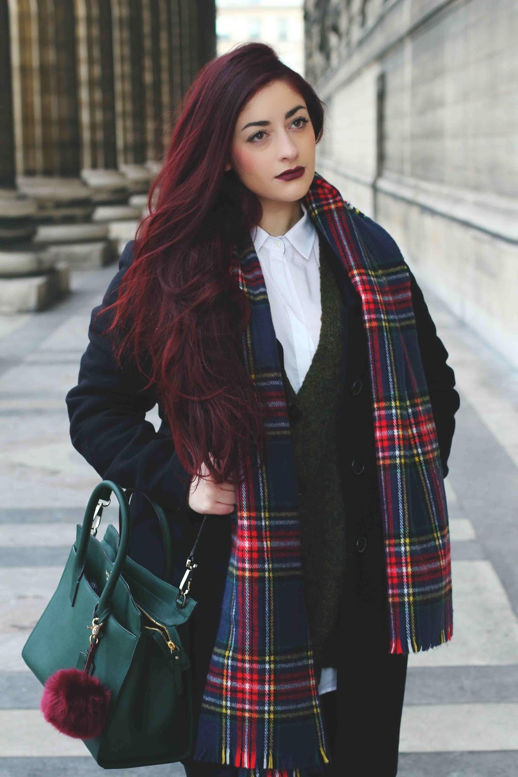 look fashion week tartan