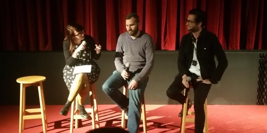 Short filmmakers at Monster Fest