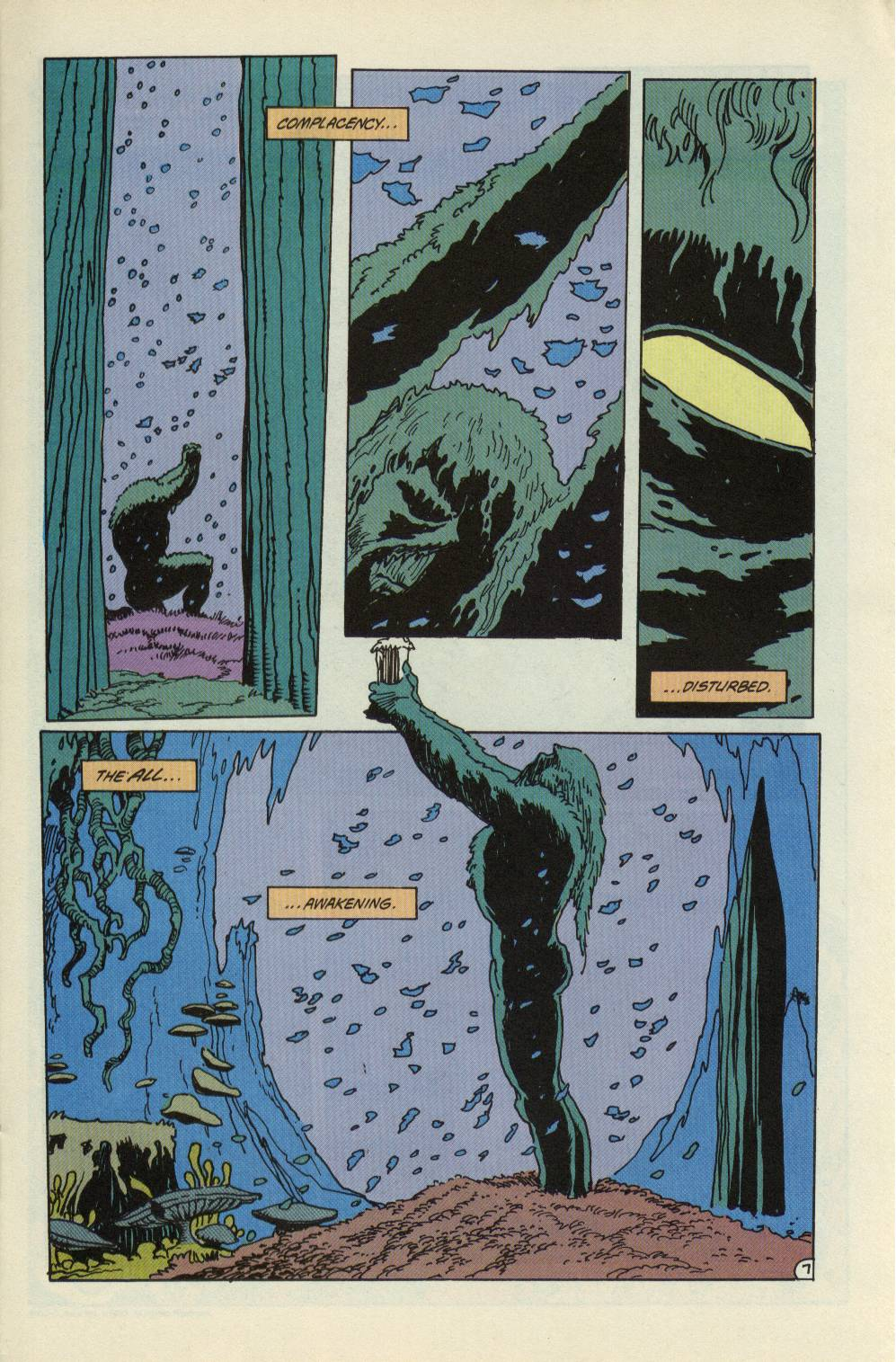 Swamp Thing (1982) Issue #99 #107 - English 8