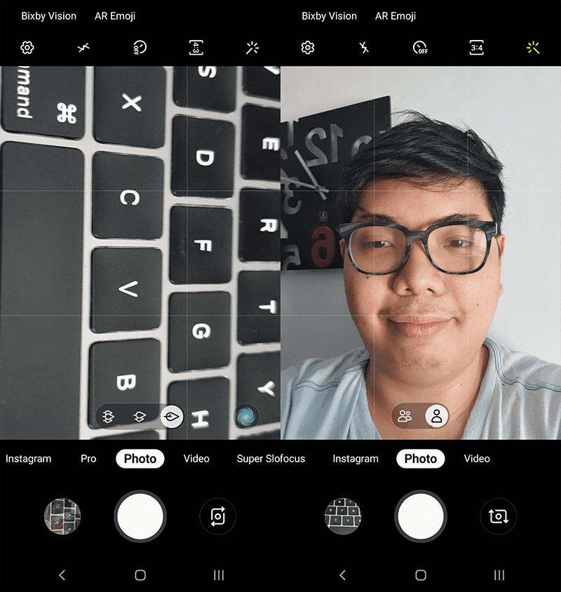 The camera app
