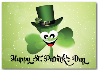 St. Patricks day e-cards greetings free download