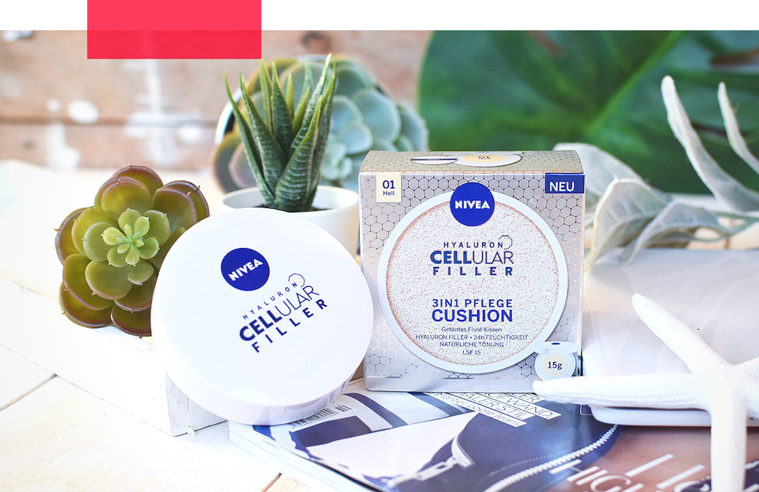 Test der Nivea Hyaluron Cellular Filler 3in1 Pflege Cushion