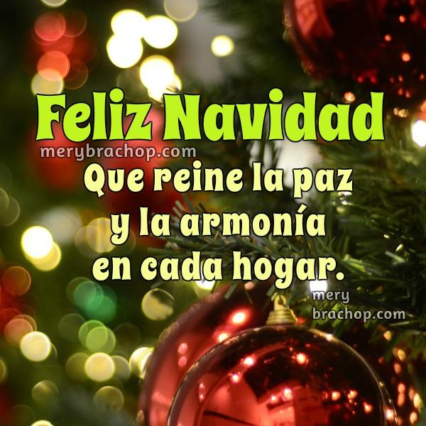 Imagen, tarjeta bonita de Navidad 2015,  frases lindas de navidad, inicio celebración navideña, palabras con mensaje navideño por Mery Bracho. Entre Poemas y Vivencias.