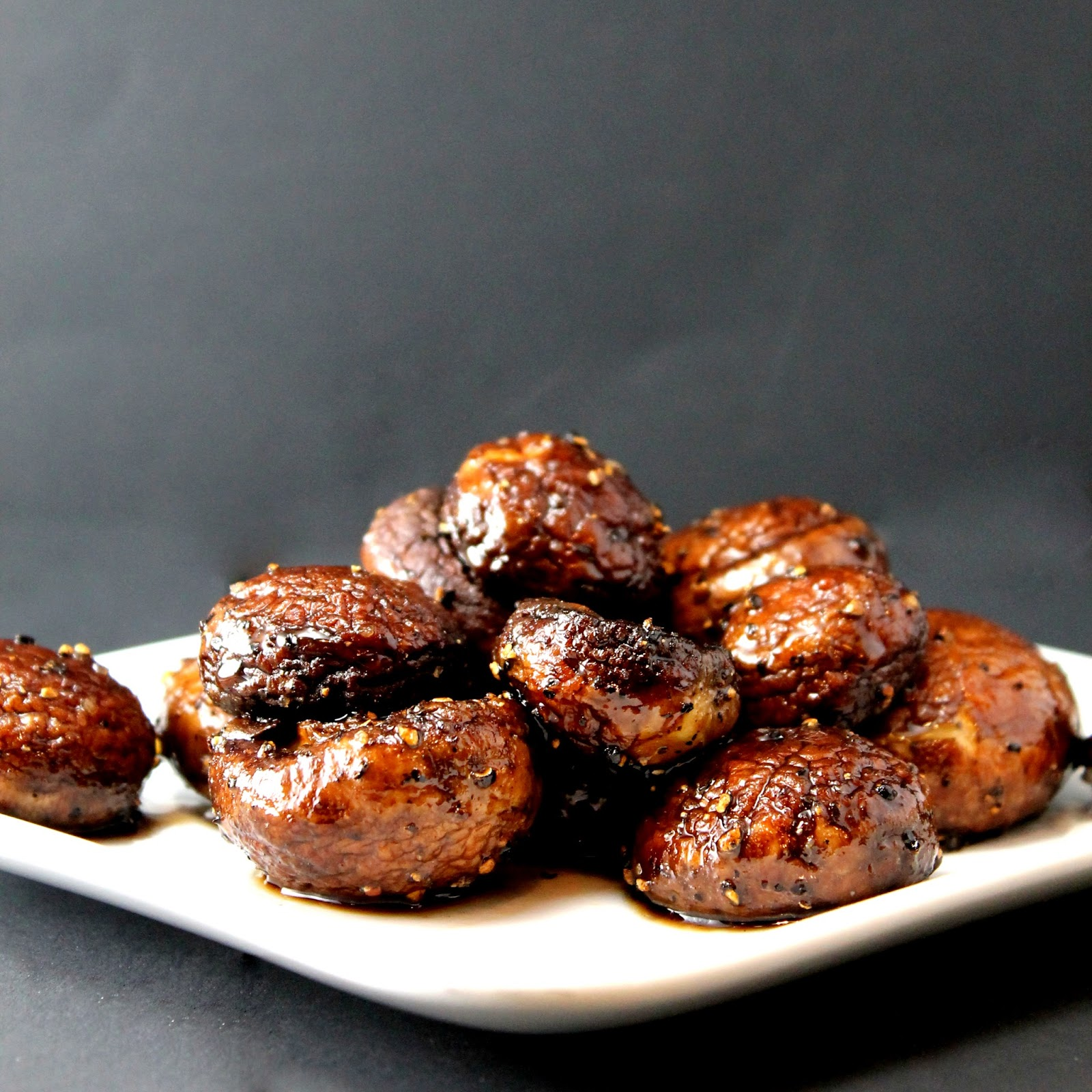 Tip Tuesday: Pan Roasted Mushrooms - thestayathomechef.com