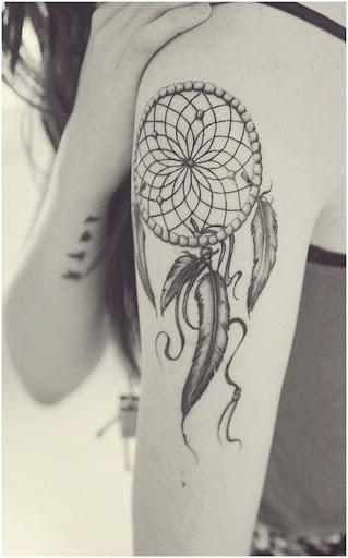 Simples dreamcatcher tatuagem