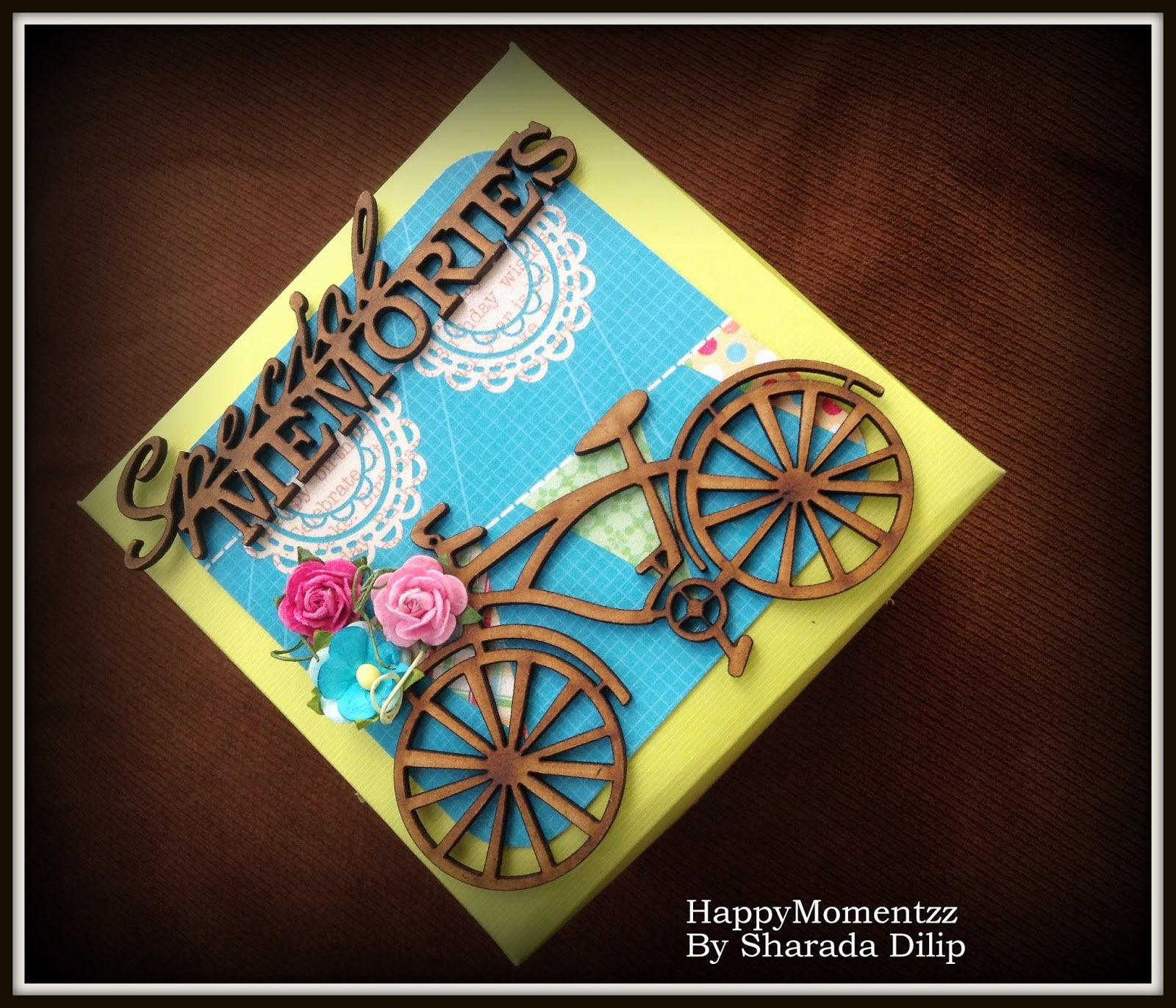 Happymomentzz Crafting By Sharada Dilip Rakhi Explosion Box