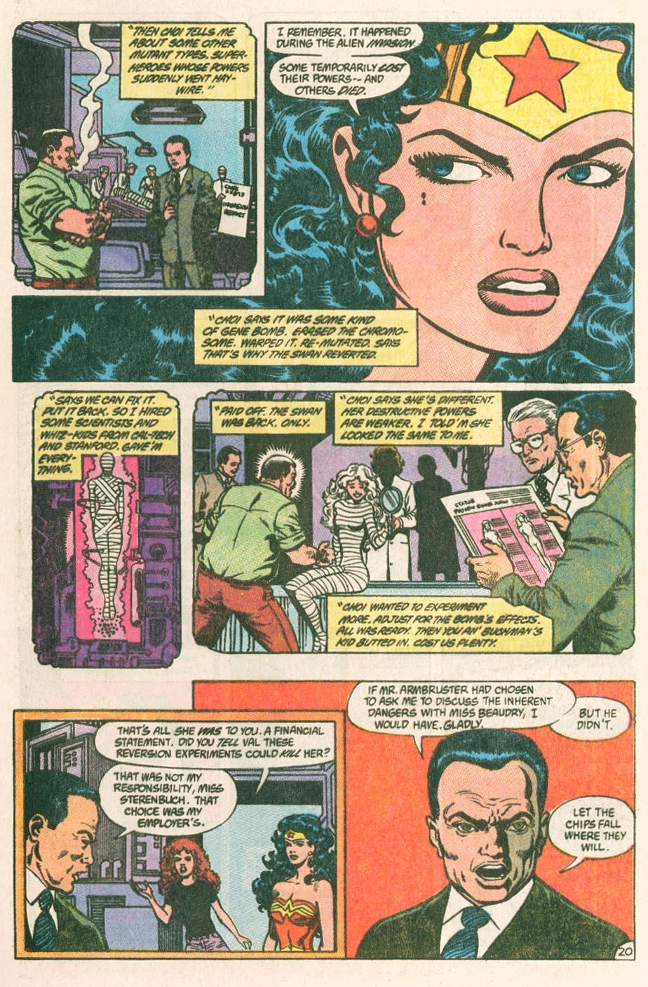 Read online Wonder Woman (1987) comic -  Issue #44 - 22