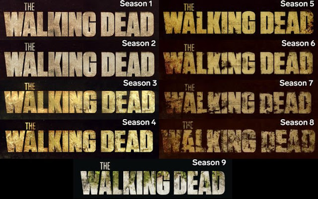 The Walking Dead logos