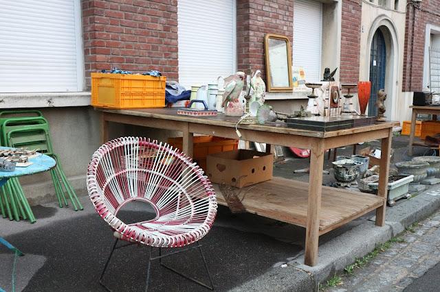Fauteuil rotin, Amiens / Photo Atelier rue verte /
