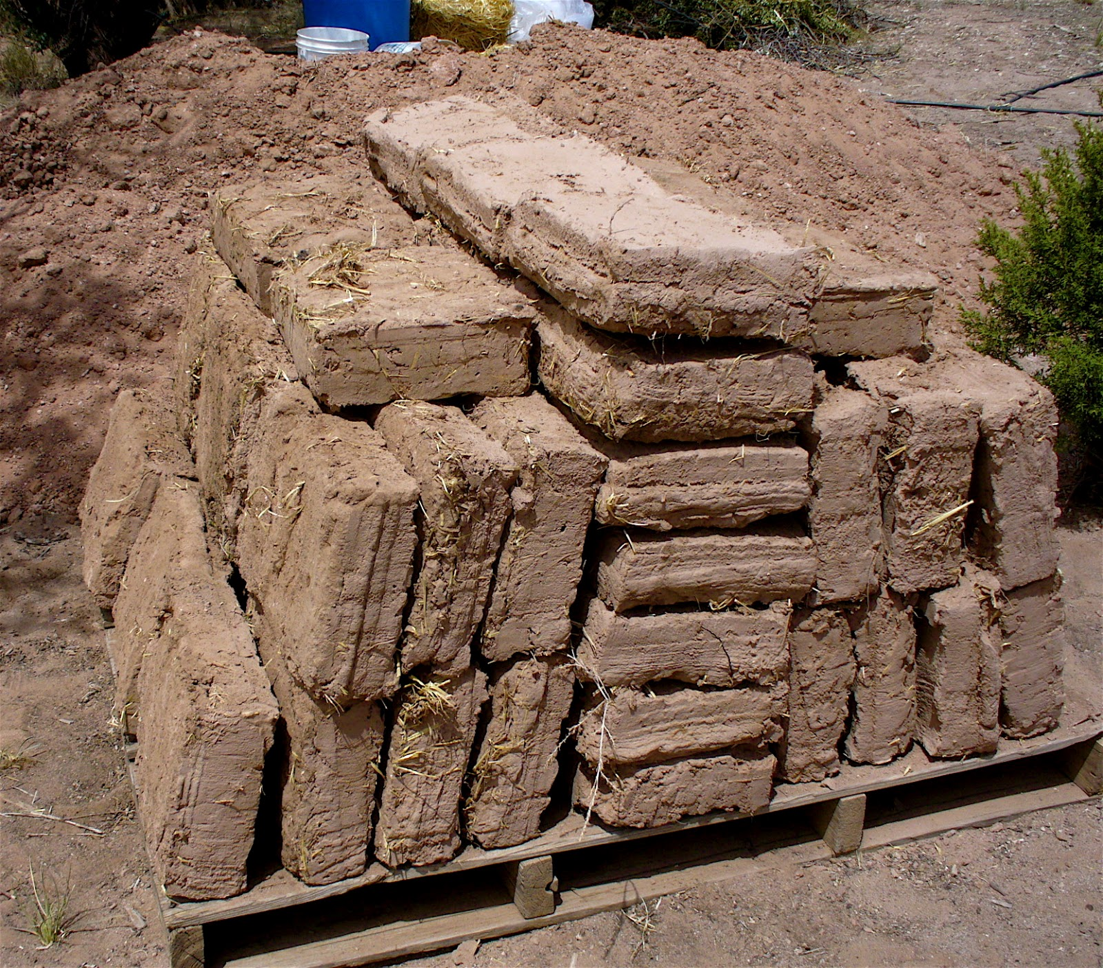 Alt build blog making adobe bricks for Adobe house construction cost