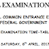 National Common Entrance Exam 2017/18 Time-Table Published
