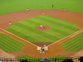 First pitch, Tigers vs. Astros