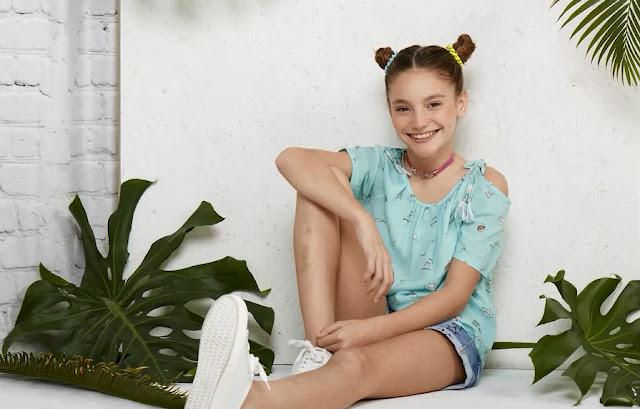 Tendencia primavera verano 2018 moda blusas para nenas.