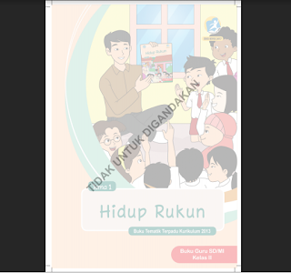 Buku Guru Kelas 2 SD Tema I Hidup Rukun K13 Revisi