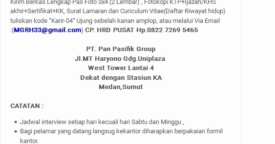 Loker Ntb Terbaru Lowongan Kerja Bp Indonesia Terbaru Loker Cpns Bumn Medan Pt Pan Pasifik Group Juli 2016 Lowongan Kerja Terbaru 2016