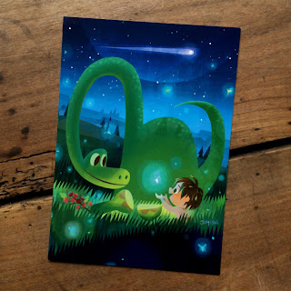 the good dinosaur art a new best friend joey chou