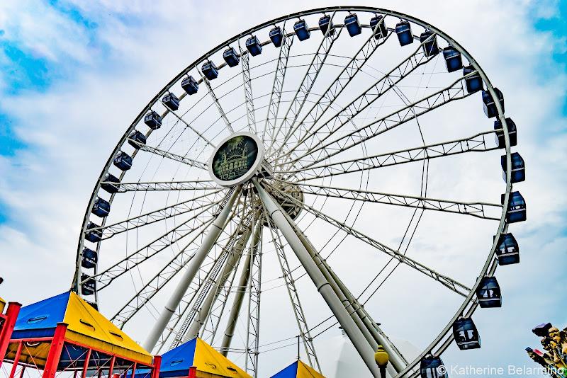 Navy Pier Centennial Wheel Girls' Weekend in Chicago