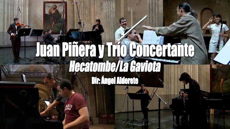 Juan Piñera y Trío Concertante - ¨Hecatombe/La Gaviota¨ - Videoclip - Dirección: Ángel Alderete. Portal del Vídeo Clip Cubano