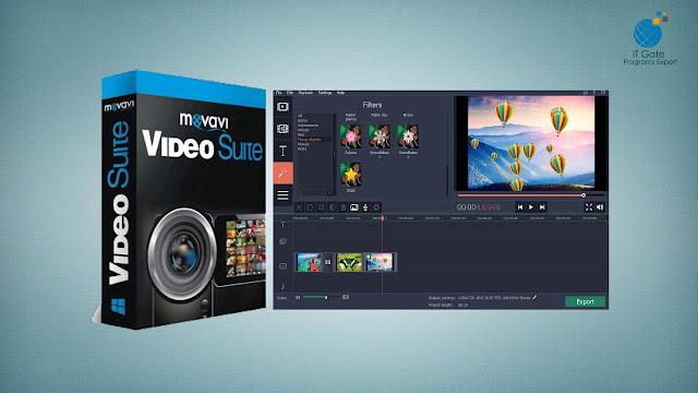 Movavi Video Suite 17.3.0 With keygen