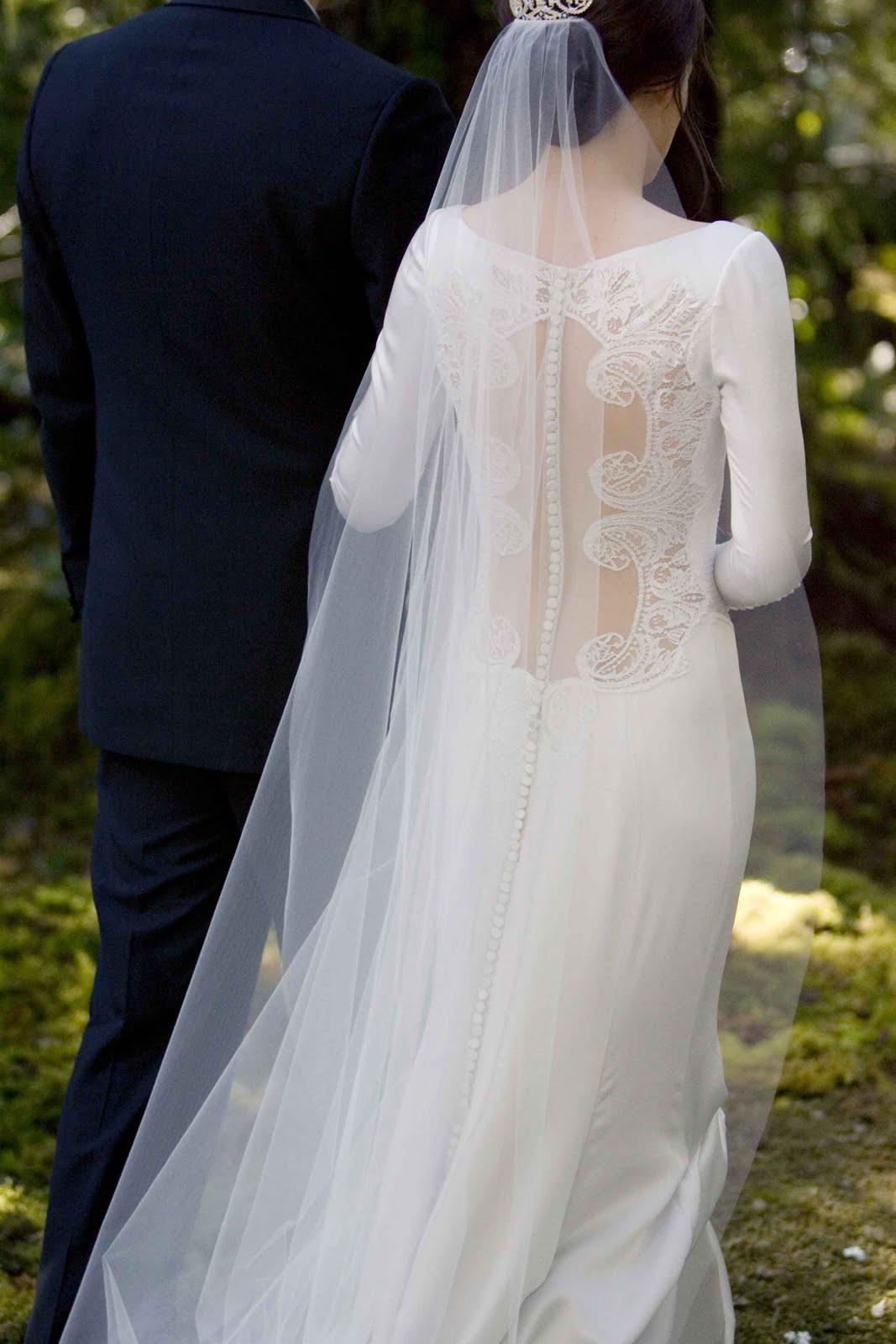 Vestido de novia de Crepúsculo