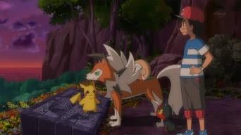 Pokemon Sol y Luna Capitulo 37 Temporada 20 Rockruff Y El Espíritu Guardián De Las Ruinas De La Vida