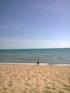 De vuelta a la playa en Domingo