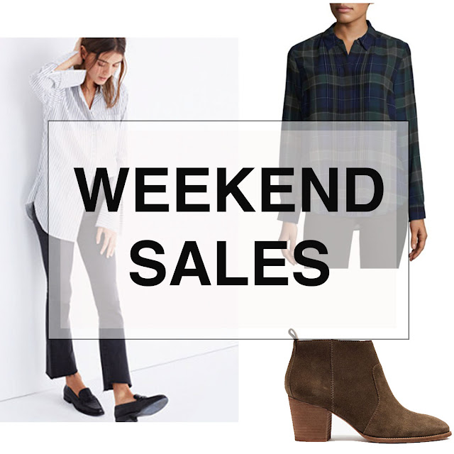 Boston Life and Style Blogger, The Northern Magnolia, is sharing a roundup of her favorite weekend sales.