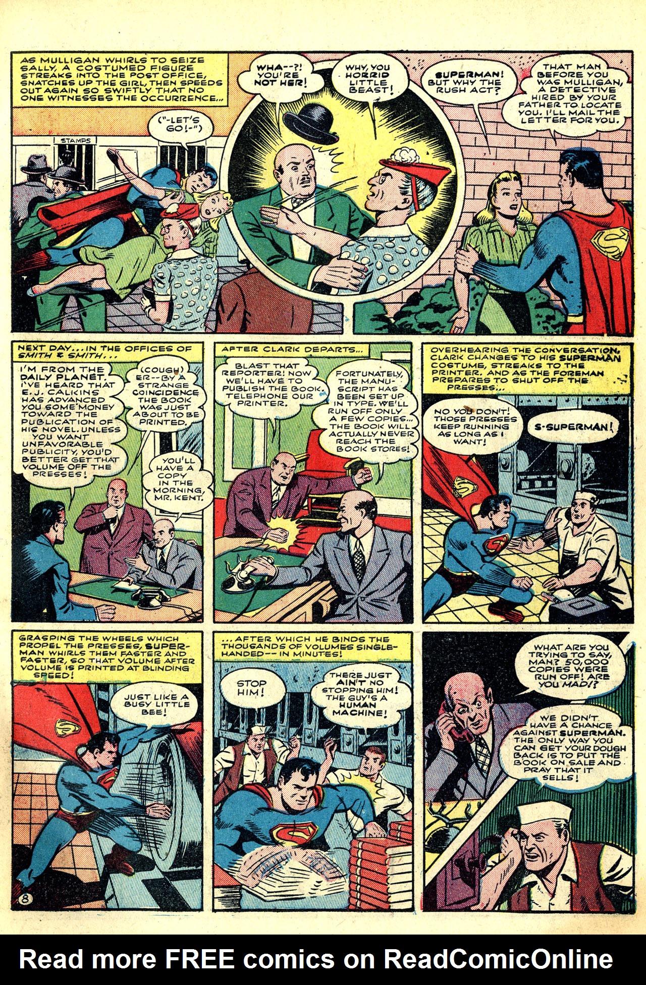Read online World's Finest Comics comic -  Issue #8 - 11
