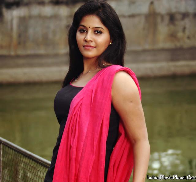 Actress Anjali Hot Black Salwar Photo Shoot Stills
