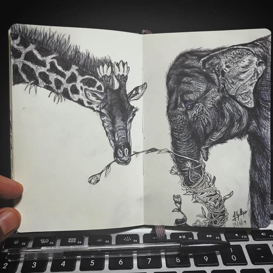 09-The-elephant-and-the-giraffe-Goutham-Tulasi-www-designstack-co