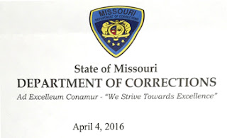 Missouri Department of Corrections Seal